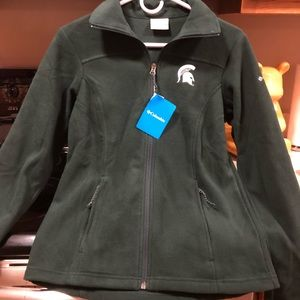 Women's New MSU Columbia Jacket